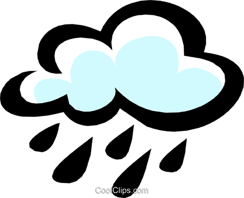 Clouds Royalty Free Vector Clip Art illustration natu0416