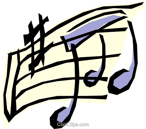 Music Royalty Free Vector Clip Art illustration arts0196