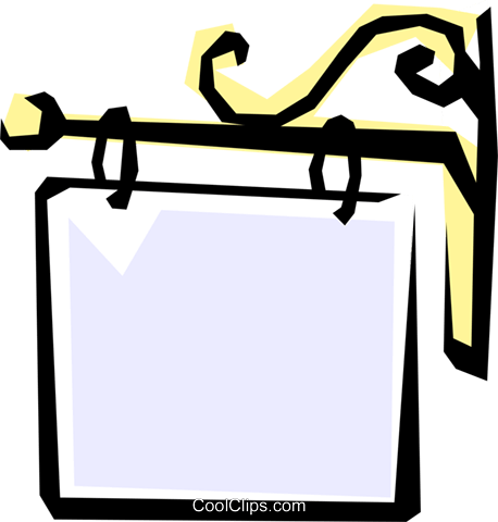 Sign Royalty Free Vector Clip Art illustration cart1076