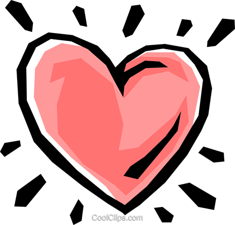 Heart Royalty Free Vector Clip Art illustration even0324