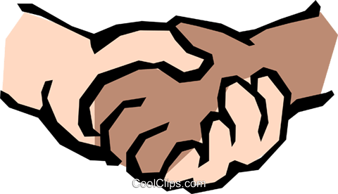 Holding hands Royalty Free Vector Clip Art illustration hand0189
