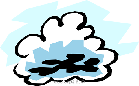Clouds Royalty Free Vector Clip Art illustration natu0331