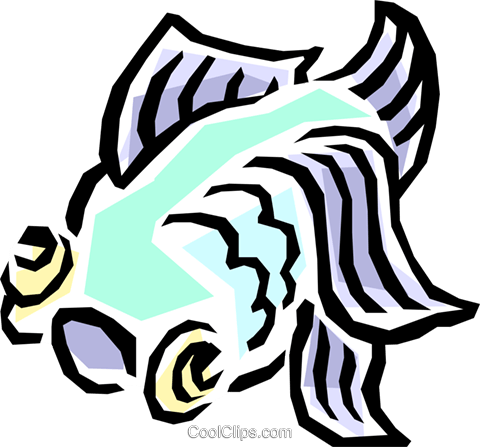 Fish Royalty Free Vector Clip Art illustration anim0835