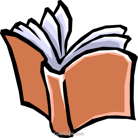 Books Royalty Free Vector Clip Art illustration busi0573