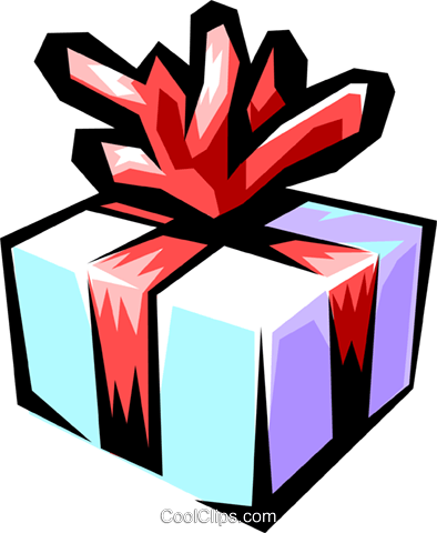 Gift Royalty Free Vector Clip Art illustration even0337
