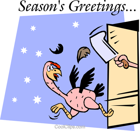 Season's Greeting Royalty Free Vector Clip Art illustration even0396