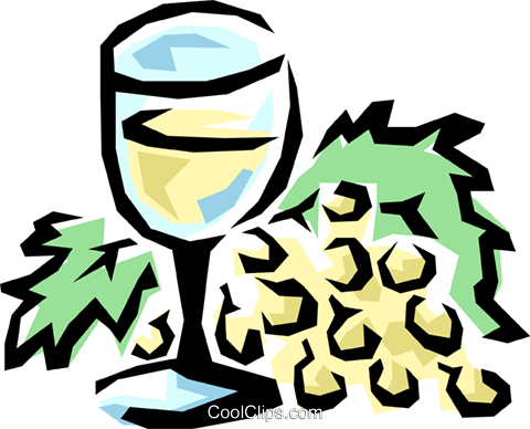 Wineglass Royalty Free Vector Clip Art illustration food0491