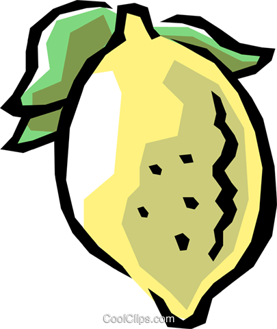 Lemons Royalty Free Vector Clip Art illustration food0493