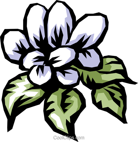 Flowers Royalty Free Vector Clip Art illustration natu0359