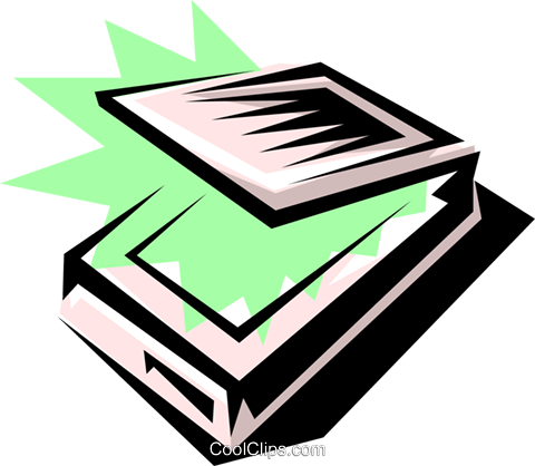 Computer scanner Royalty Free Vector Clip Art illustration busi0143