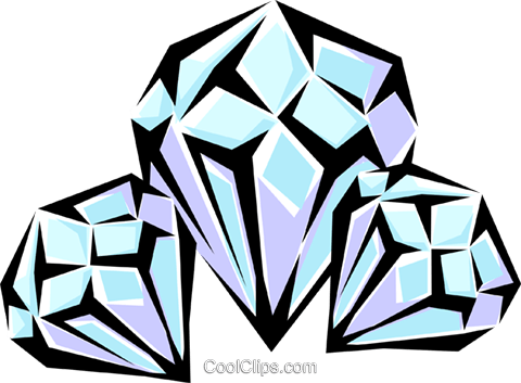 Diamonds Royalty Free Vector Clip Art illustration busi0599