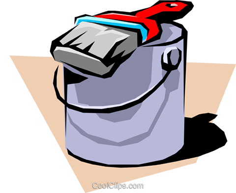 Paint can Royalty Free Vector Clip Art illustration indu0354