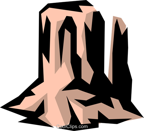 Mountains Royalty Free Vector Clip Art illustration natu0389