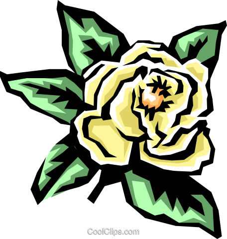 Flowers Royalty Free Vector Clip Art illustration natu0394