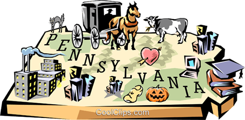 Image result for Pennsylvania clip art