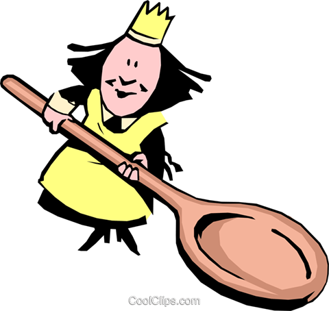Cartoon chefs Royalty Free Vector Clip Art illustration cart0072