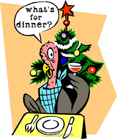 What's for dinner? Royalty Free Vector Clip Art illustration even0408