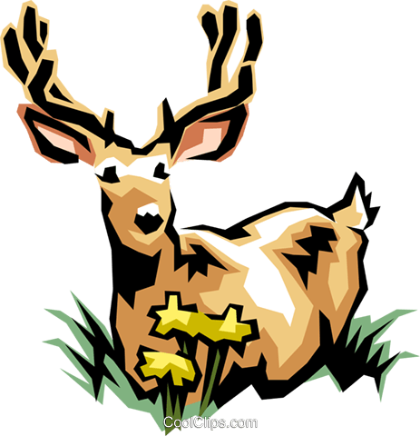 Animals Royalty Free Vector Clip Art illustration anim0410