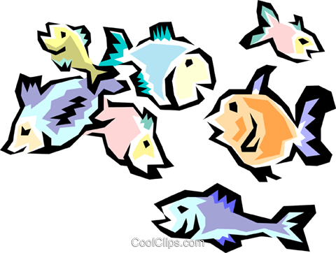 Fish Royalty Free Vector Clip Art illustration anim0413