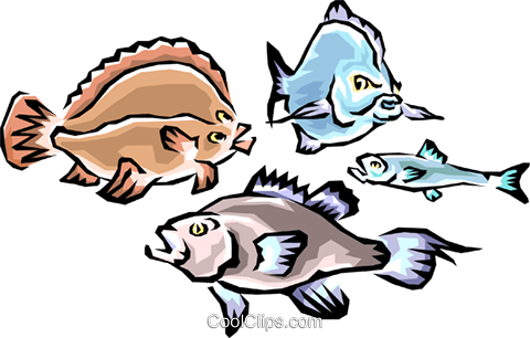 Fish Royalty Free Vector Clip Art illustration anim0414