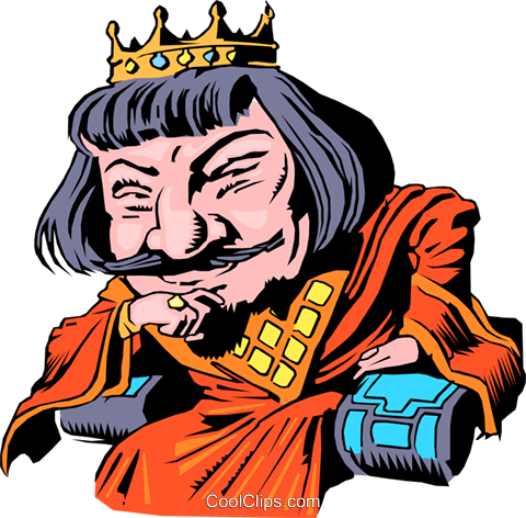 Cartoon King Arthur Royalty Free Vector Clip Art illustration cart0218