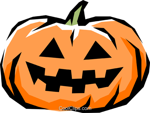 Pumpkins Royalty Free Vector Clip Art illustration even0356