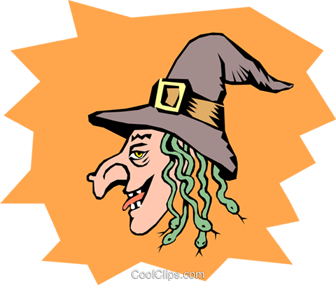 Wicked witches Royalty Free Vector Clip Art illustration even0433
