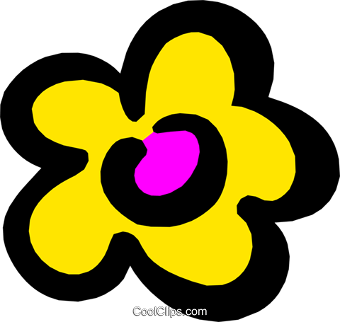 Flowers Royalty Free Vector Clip Art illustration natu0406