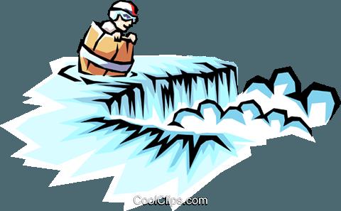 barrel going over niagara falls royalty free vector clip art rh search coolclips com