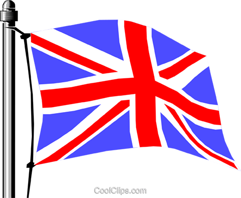 United Kingdom flag Royalty Free Vector Clip Art illustration worl0133