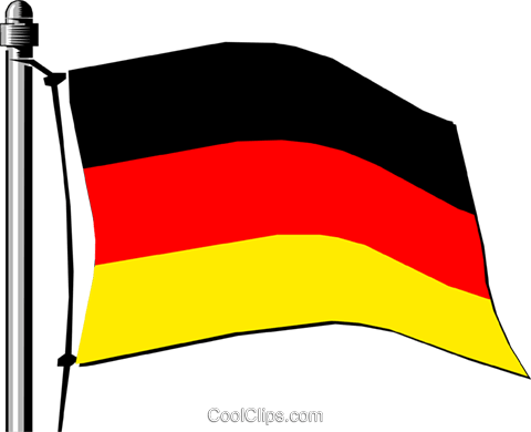 Germany flag Royalty Free Vector Clip Art illustration worl0135