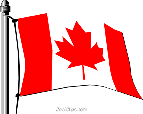 Canada flag Royalty Free Vector Clip Art illustration worl0148