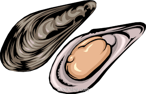 mussels royalty free vector clip art illustration food0138 rh search coolclips com Ocean Scene Clip Art Free Cartoon Ocean Clip Art Borders Free