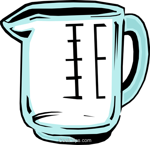 Messbecher Clipart