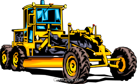 Grader Royalty Free Vector Clip Art illustration indu0034