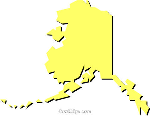 Alaska Royalty Free Vector Clip Art illustration worl0247