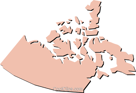 Northwest Territories Royalty Free Vector Clip Art illustration worl0393