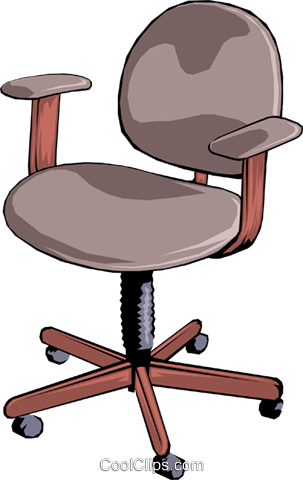 Chair Royalty Free Vector Clip Art illustration busi0250