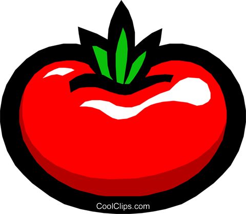 Tomatoes Royalty Free Vector Clip Art illustration food0360