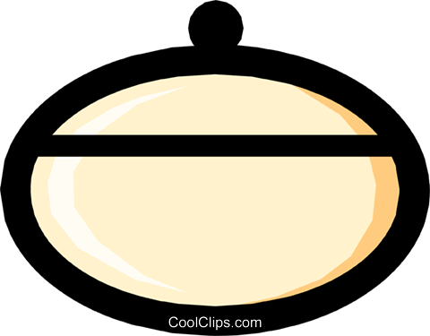 Bowl Royalty Free Vector Clip Art illustration hous0261