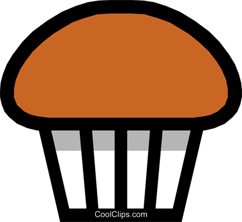 Muffin Royalty Free Vector Clip Art illustration food0375