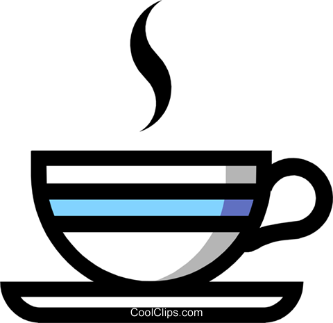 Cup of coffee Royalty Free Vector Clip Art illustration food0376