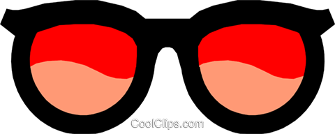 Sunglasses Royalty Free Vector Clip Art illustration hous0334