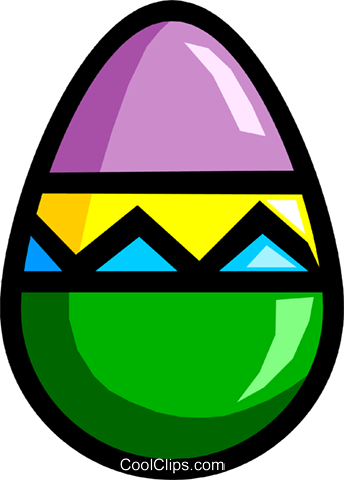 Easter egg Royalty Free Vector Clip Art illustration even0121