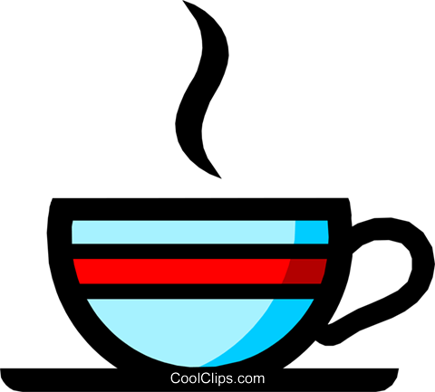 Coffee mug Royalty Free Vector Clip Art illustration food0384