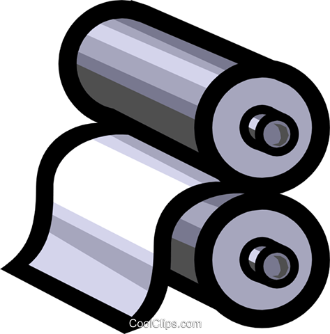 Rollers Royalty Free Vector Clip Art illustration indu0401