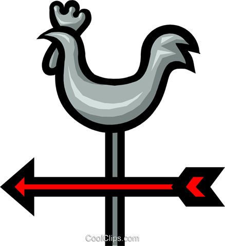 Weathervane Royalty Free Vector Clip Art illustration natu0201