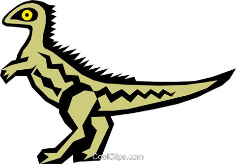 Dinosaur Royalty Free Vector Clip Art illustration anim0431