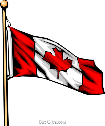 Canadian flag Royalty Free Vector Clip Art illustration worl0053