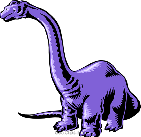 Cartoon dinosaur Royalty Free Vector Clip Art illustration anim0562